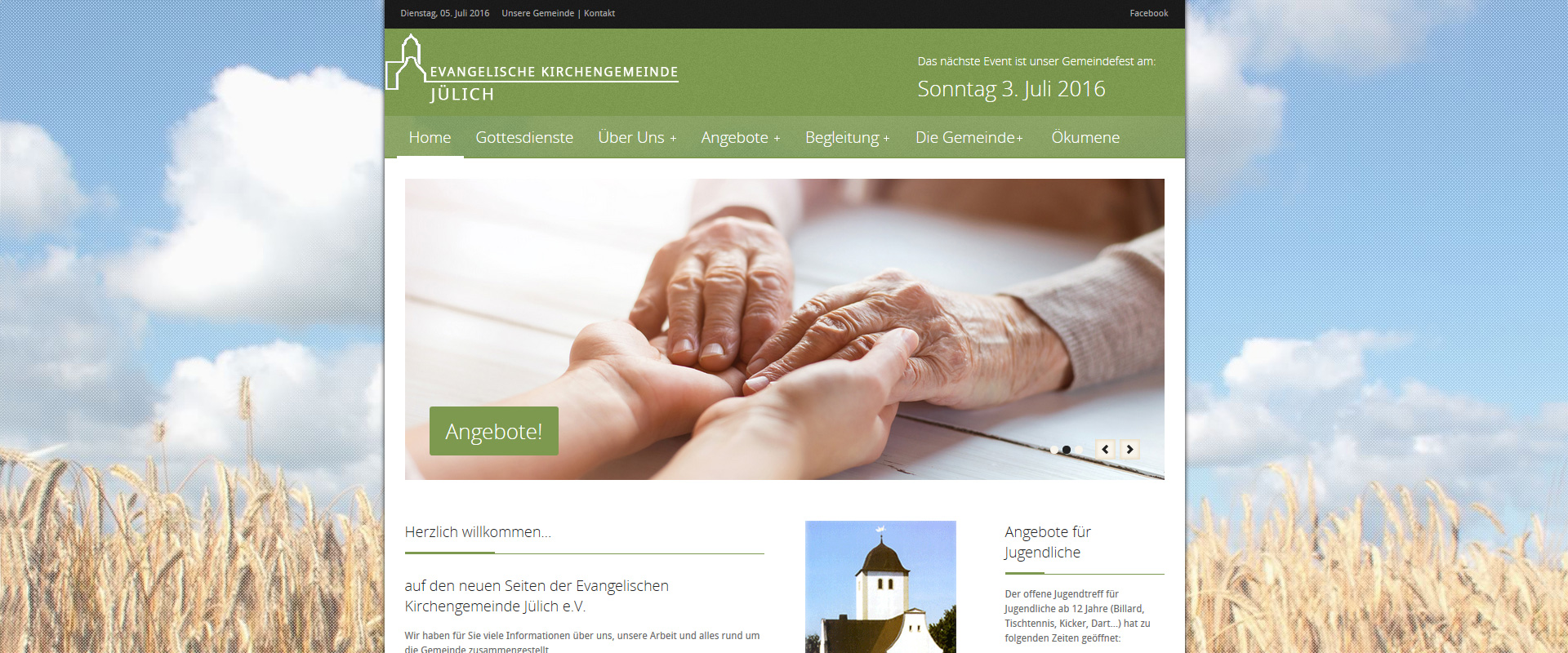 Webdesign Wordpress Joomla Responsive Design